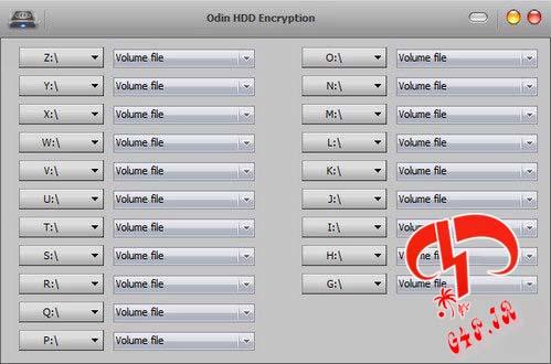 دانلود نرم افزار قفل گذاری بر روی درایوها – Odin.HDD.Encryption.7.8.1