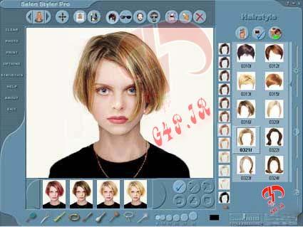 دانلود نرم افزار طراحی چهره – Salon Styler Pro v5.2.1