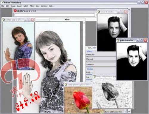 دانلود نرم افزار تبدیل عکس به نقاشی – AKVIS Sketch 14.0.2545