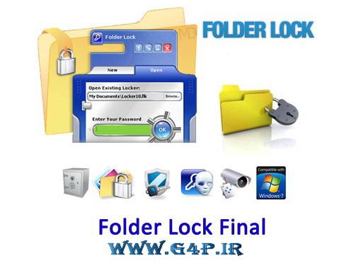 دانلود Folder Lock 7.1.0 Final قدرتمندترین نرم افزار قفل گذاری بر روی پوشه و درایو