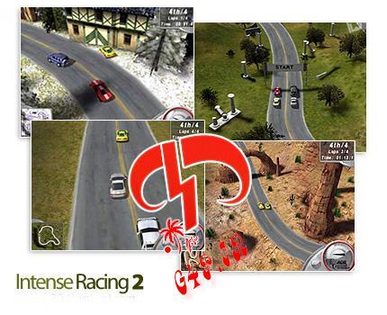 دانلود بازی کم حجم کامپیوتر مسابقات رالی -  Intense Racing 2